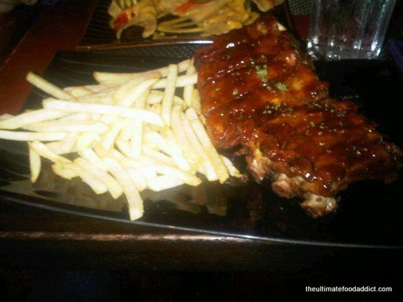 Joe Mama's Spanish Baby back ribs