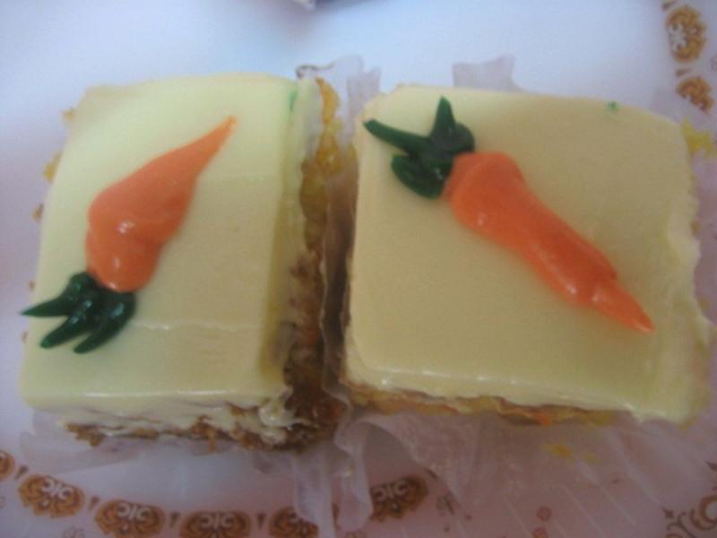 Bite-sized carrot