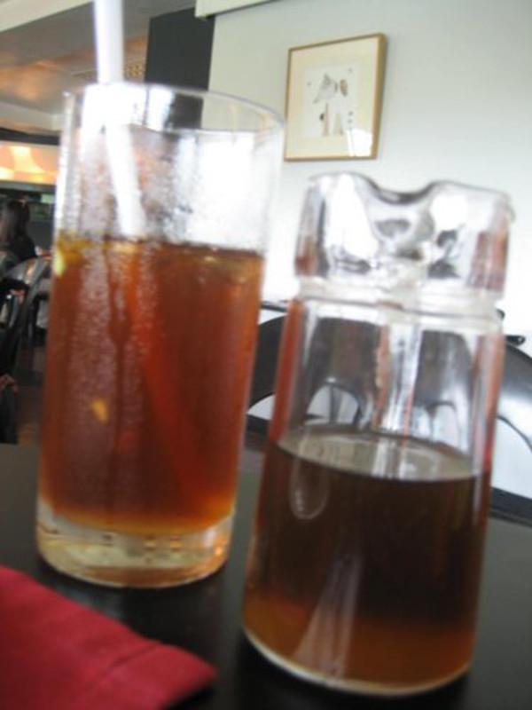 House Iced tea and honey