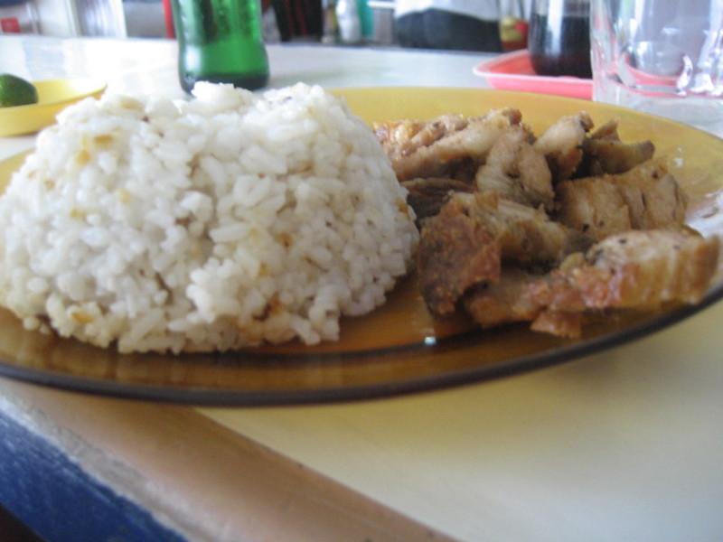 Lekasi (lechon kawali and sinangag)