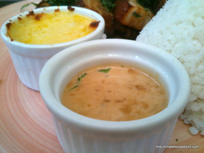 Bagoong Sauce and Mashed Potato